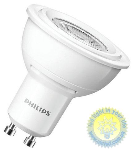 Лампа LED PHILIPS 35W GU10 WH 230V 36D 2700K