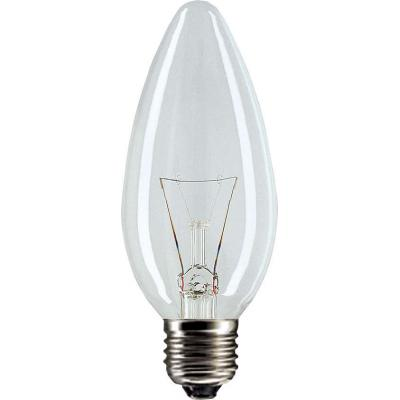 Лампа накаливания Philips E27 40W 230V B35 CL Stan