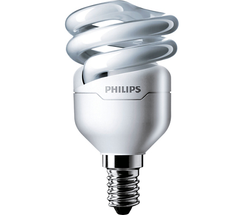 Лампа Philips T2 8W E14 WW 220-240 1PF/6