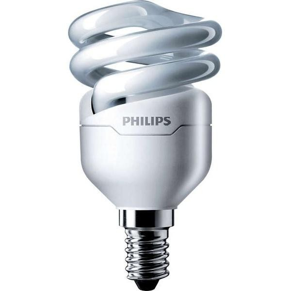 Лампа Philips Tornado T2 mini 8W WW E14 220-240V 1PF/6