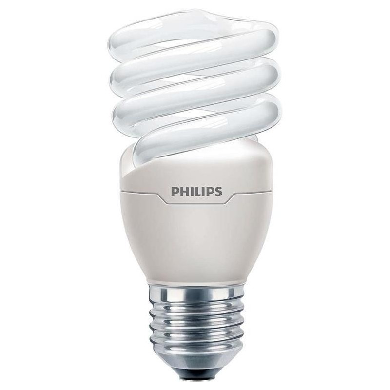 Лампа Philips TornadoT2 8y E27 15W 220-240V WW 1CT/12