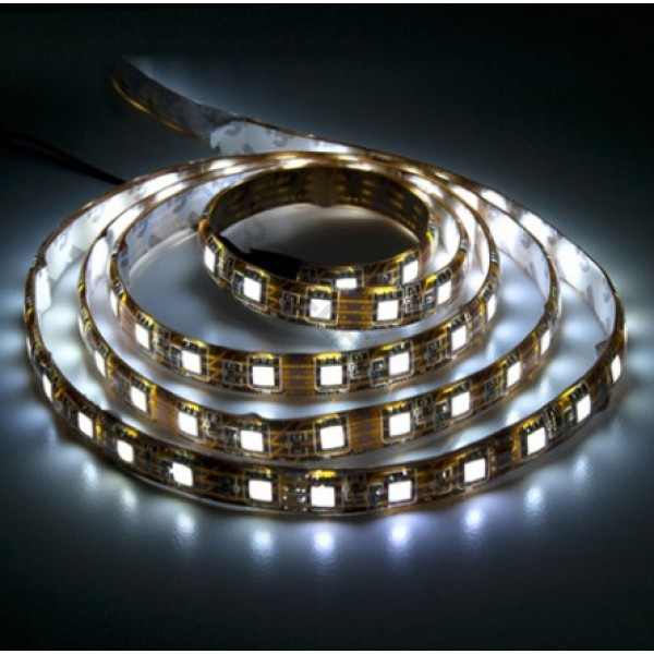 LED лента Feron LS707/LED-RL 60SMD(5050/m 220V, 14,4W/m 14*8mm белая IP68, min 50m