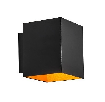 Бра Zuma Line 91063 Sola Wl Square Black-Gold